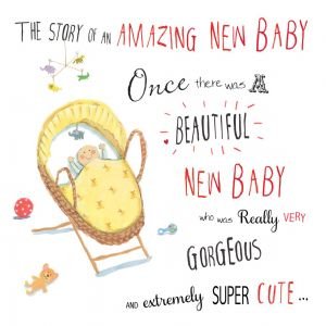 Big New Baby Card